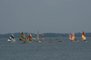 sailboats at sandyhill